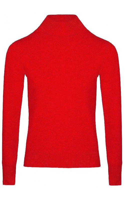 Красный джемпер с длинным рукавом Anna Pepe AP 32165