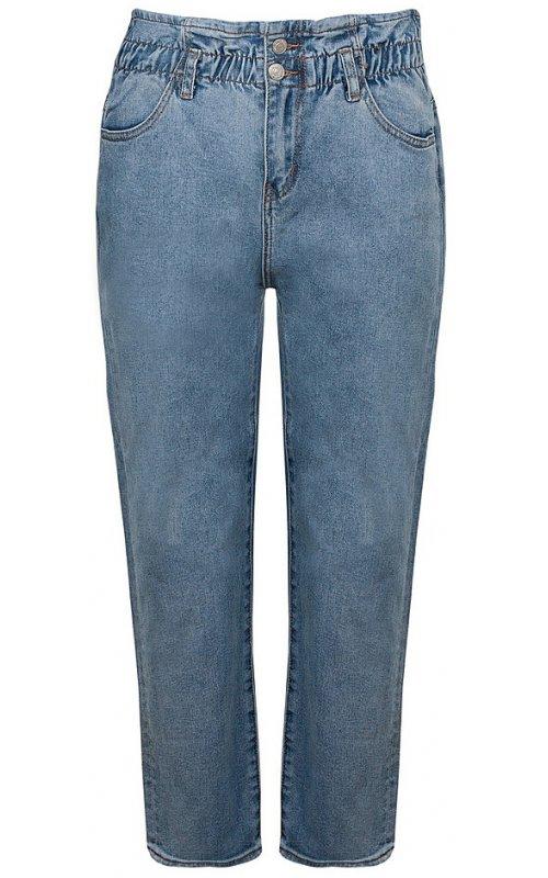 Прямые голубые джинсы Anna Pepe AP 822