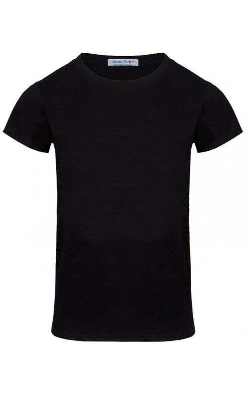 Черная футболка Anna Pepe AP 395