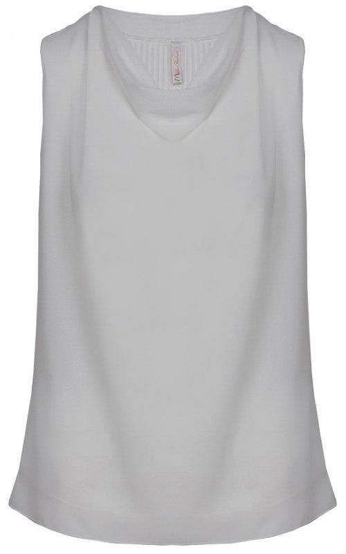 Белая блуза с завязками сзади Anna Pepe AP 10865