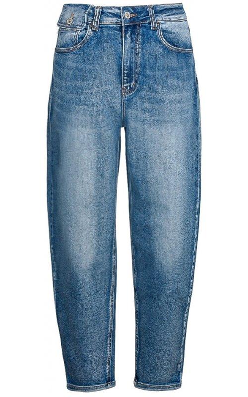 Синие джинсы с потертостями  Anna Pepe AP 1020