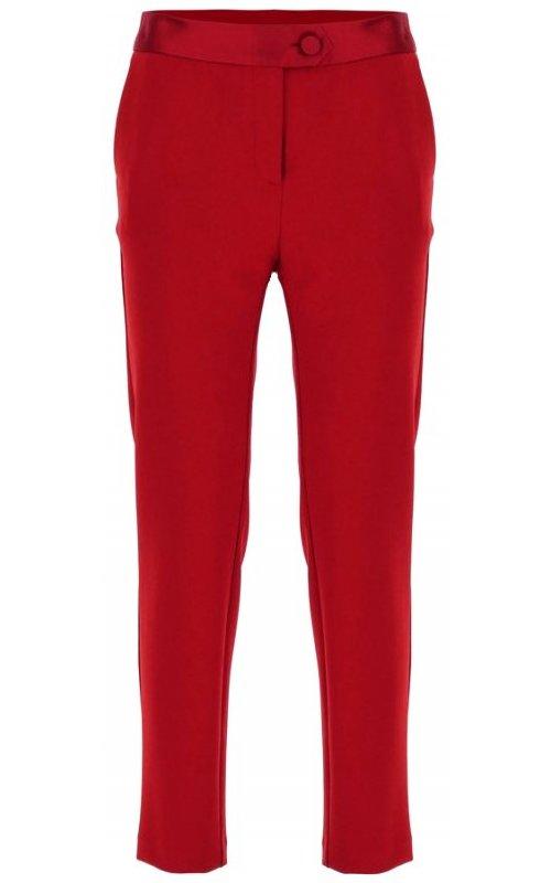 Темно-красные зауженные к низу брюки IMPERIAL PVN2YEJ
