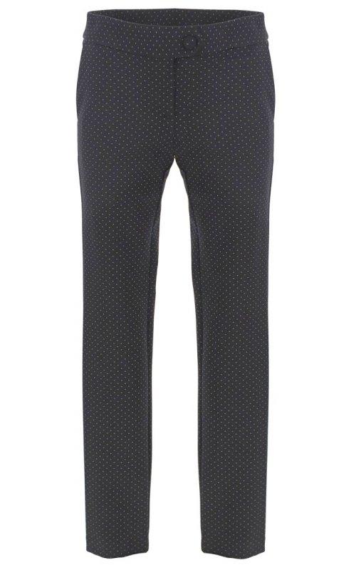 Черные брюки в горошек IMPERIAL P1C4ADW