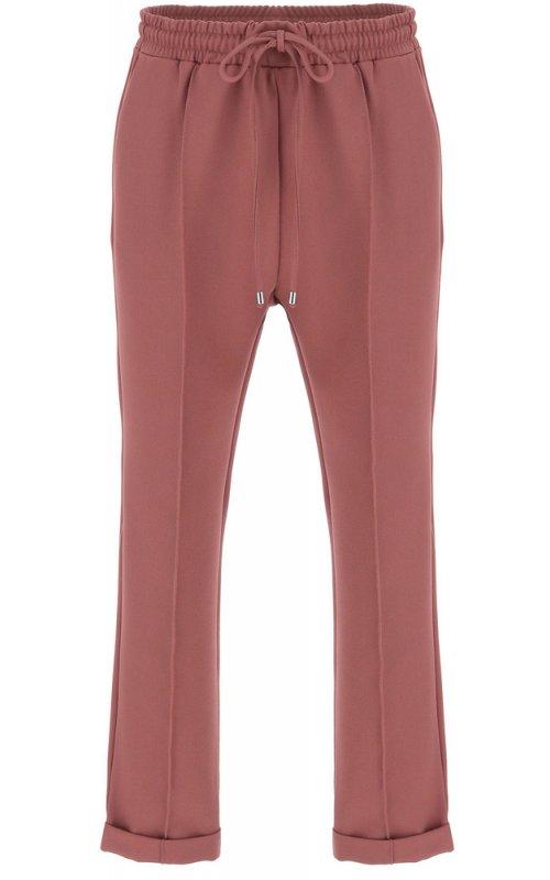Темно-розовые брюки с эластичным поясом и кулиской IMPERIAL P1C0ACX