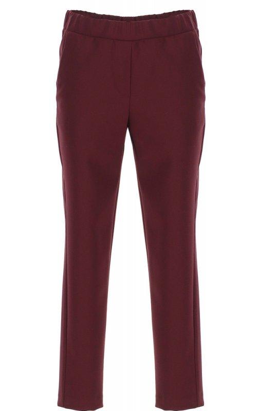 Бордовые прямые брюки IMPERIAL PSR8AFF