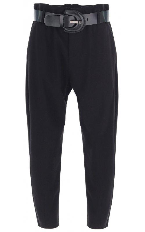 Черные брюки с поясом IMPERIAL P1W8ADS