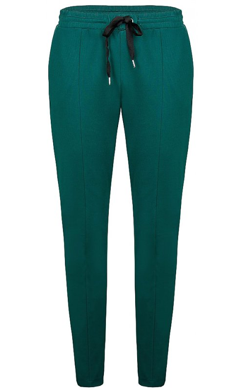 Брюки зеленого цвета с поясом на шнуровке IMPERIAL PTU9ABV