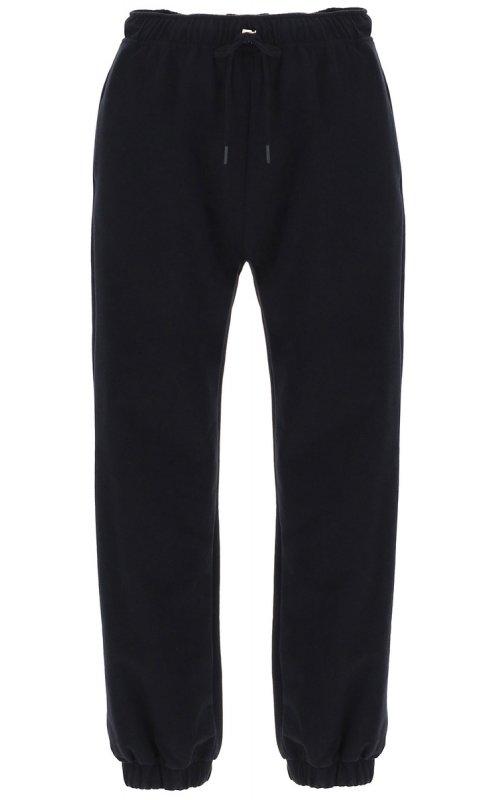 Черные брюки с эластичным манжетами и кулиской IMPERIAL P1U1ABY