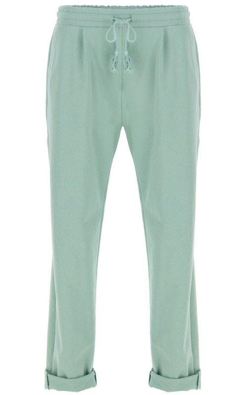 Спортивные брюки бирюзового цвета со шнуровкой IMPERIAL P1O7ZBG