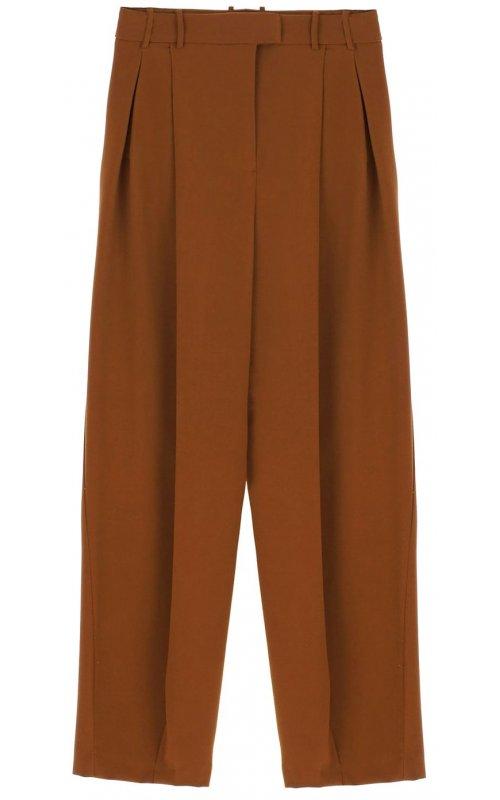 Коричневые широкие брюки IMPERIAL P9990022K