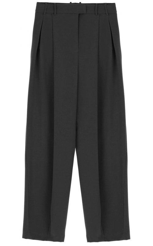 Черные широкие брюки IMPERIAL P9990022K