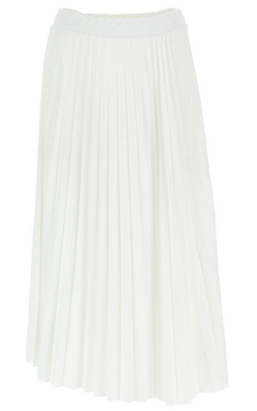 Белая плиссированная юбка IMPERIAL GFV3ZGRNFW