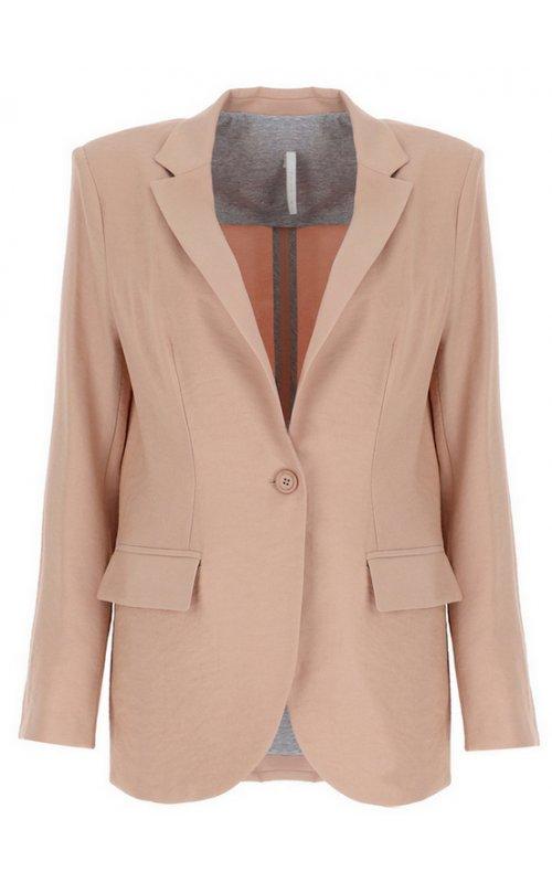 Розовый прямой пиджак IMPERIAL JW08ZGN