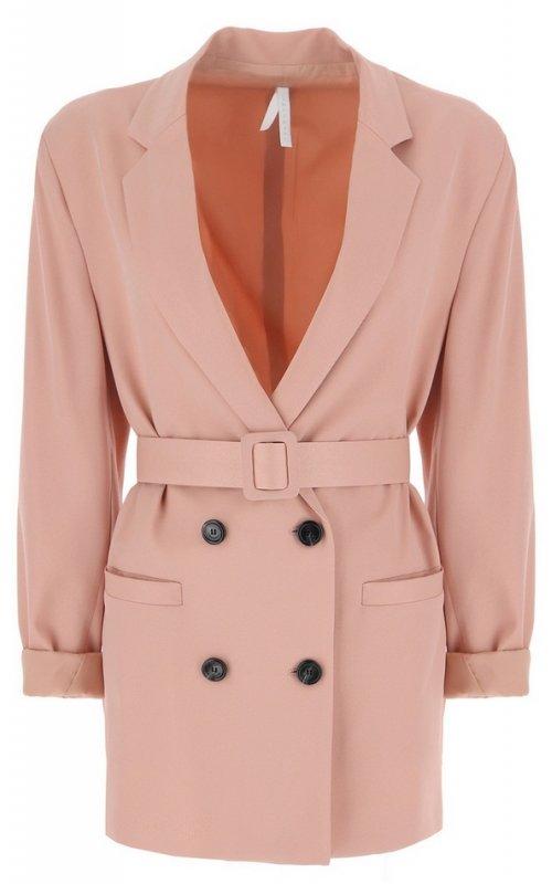 Розовый двубортный пиджак IMPERIAL JW09ZHLC