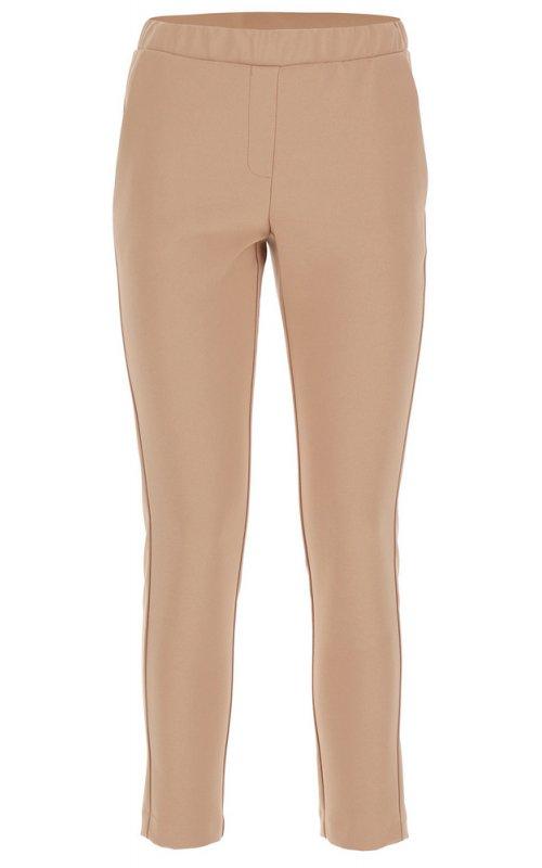 Бежевые прямые брюки IMPERIAL PSR8ZFH