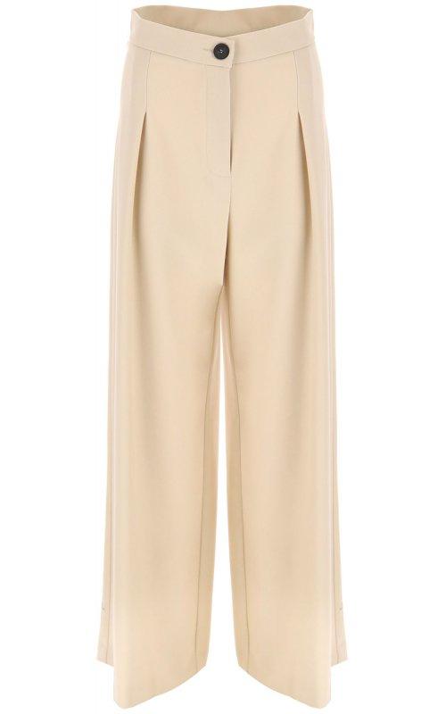 Широкие молочные брюки IMPERIAL P2C1BHP