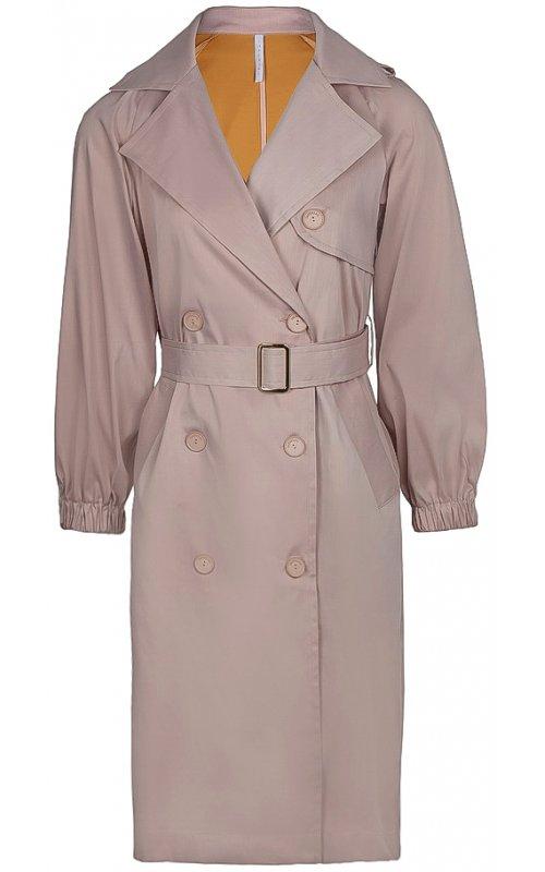 Розовый плащ с поясом IMPERIAL S9990004L