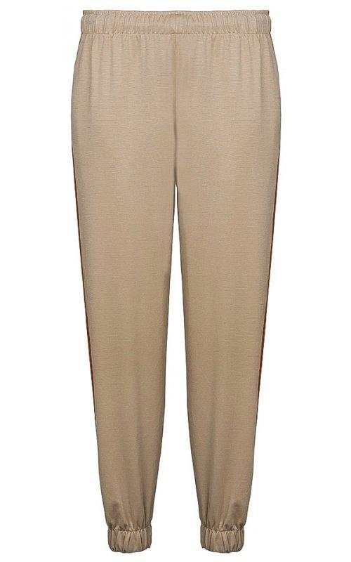 Бежевые брюки с лампасами IMPERIAL P2W4BBB