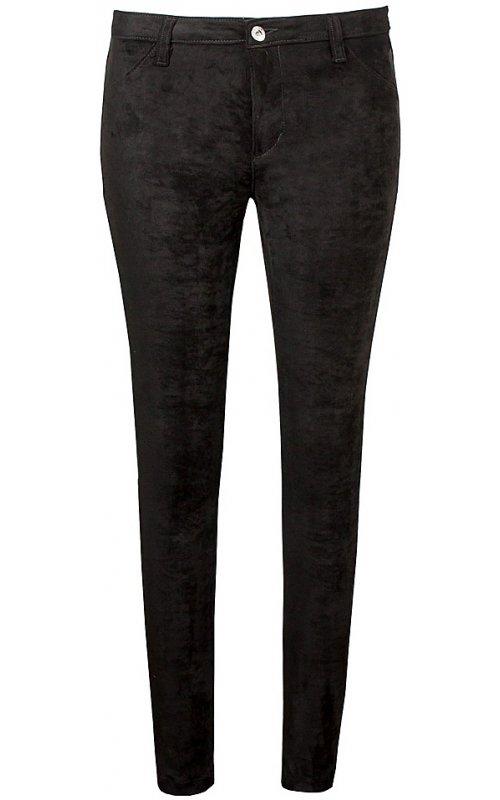 Черные брюки под замш RINASCIMENTO 94515