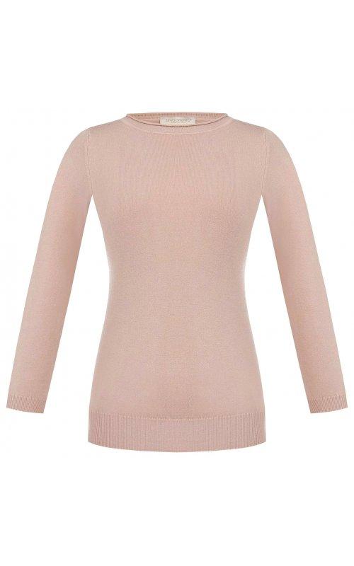 Розовый джемпер с рукавом три четверти RINASCIMENTO 9751