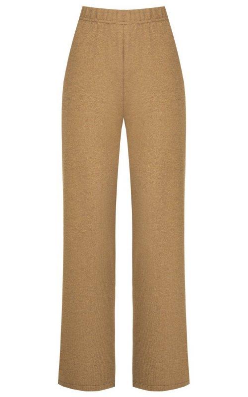 Бежевые широкие брюки RINASCIMENTO 9819