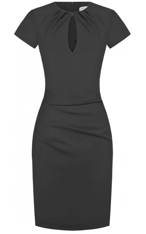 Черное базовое платье RINASCIMENTO 99373