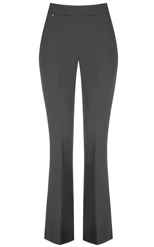 Серые расклешенные брюки RINASCIMENTO 99906