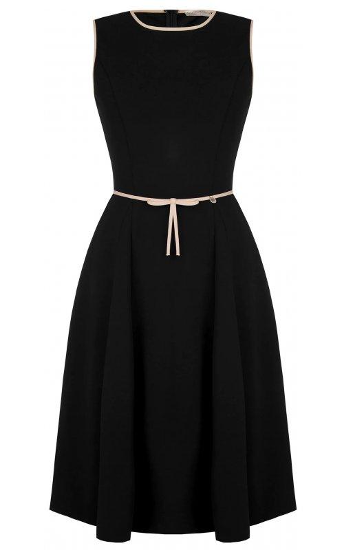 Черное платье с розовыми вставками RINASCIMENTO 100002