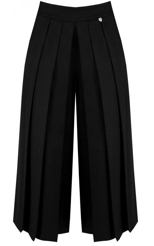 Черные брюки-юбка с плиссировкой RINASCIMENTO 99779