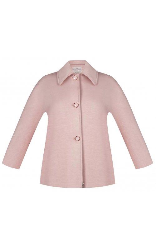 Короткое розовое пальто RINASCIMENTO 97476