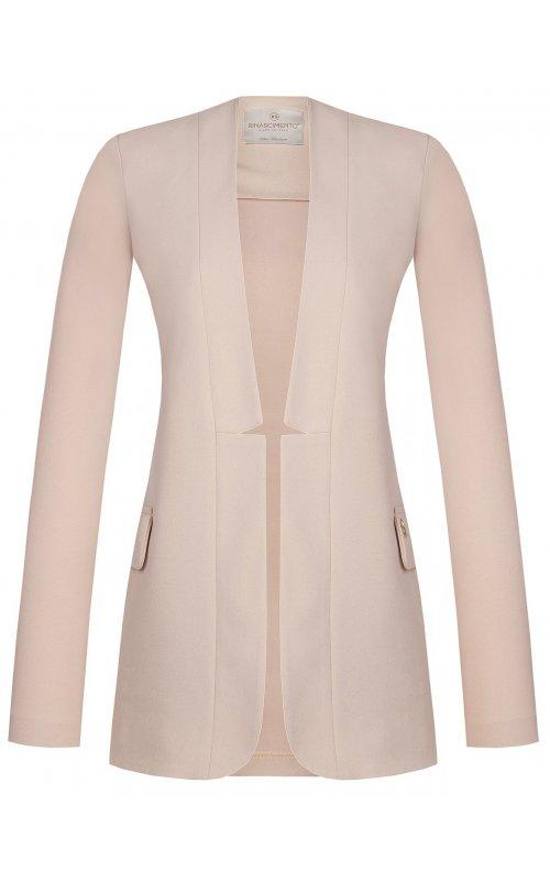 Розовый удлиненный пиджак RINASCIMENTO 97478