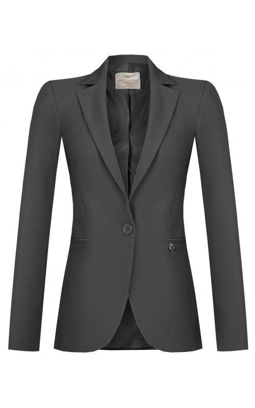 Женский черный пиджак RINASCIMENTO 97484
