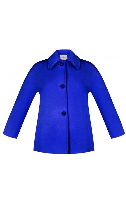 Короткое синее пальто RINASCIMENTO 97476