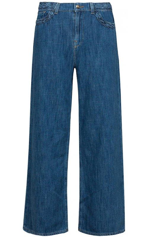 Синие широкие джинсы RINASCIMENTO 97432