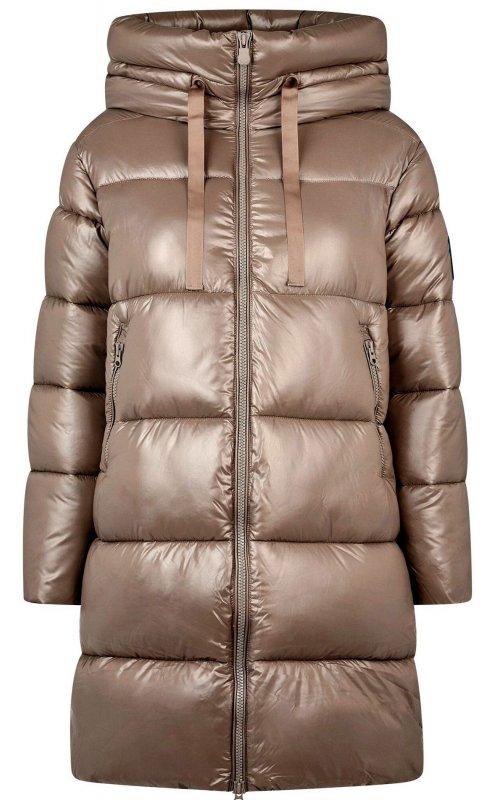 Бежевая куртка с капюшоном SAVE THE DUCK SD 4551