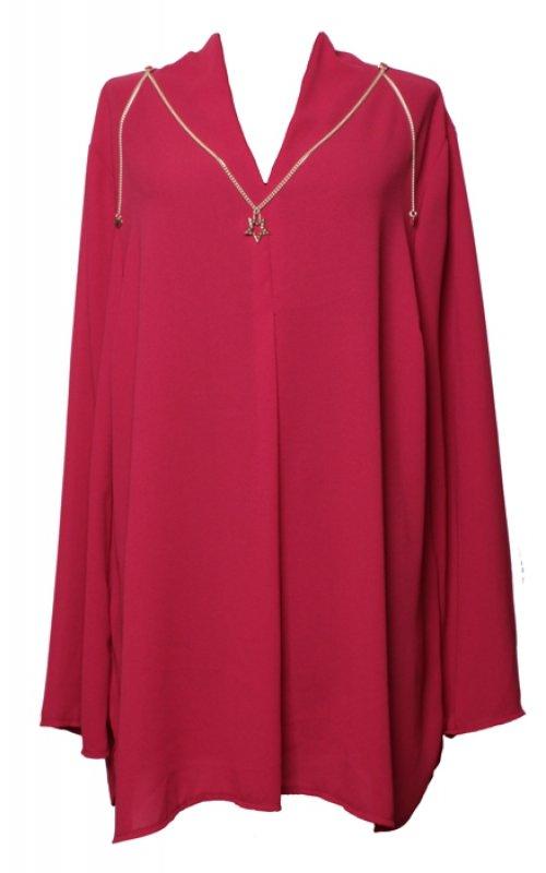 Красная блуза RINASCIMENTO (большой размер) 14277
