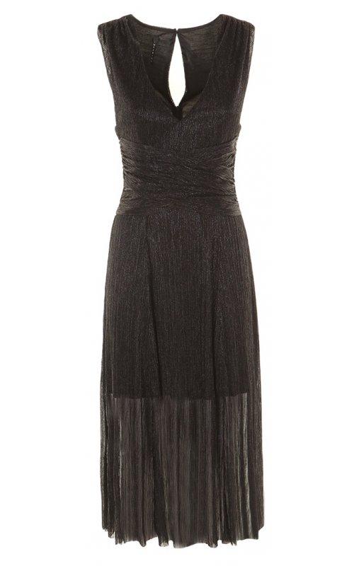Стильное черное платье IMPERIAL AWH9U6R