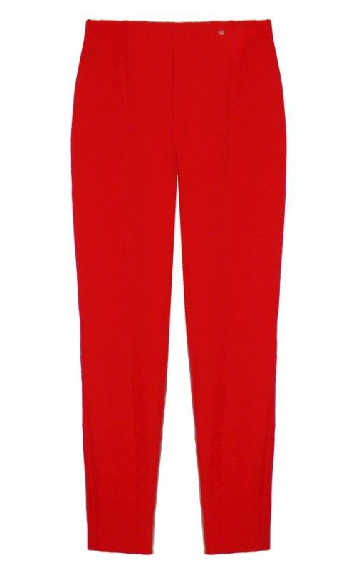 Красные укороченные брюки IMPERIAL P9990073D