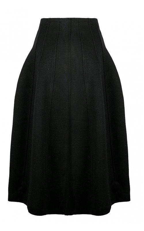 Черная длинная юбка с высокой талией IMPERIAL GEW7WOQ