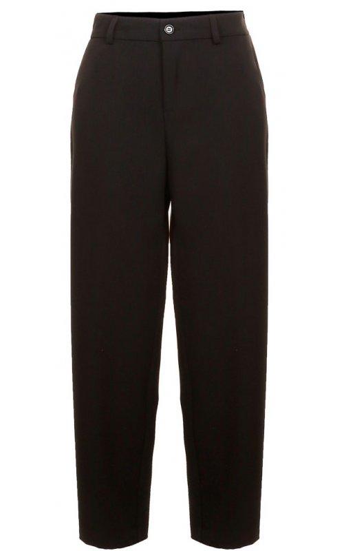 Черные прямые брюки IMPERIAL PUW5VGT
