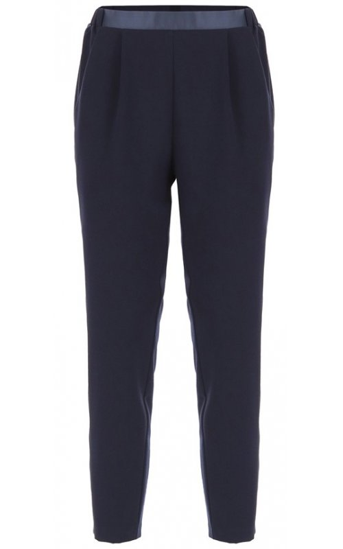 Темно-синие брюки с лампасами IMPERIAL PTG4WGQBL