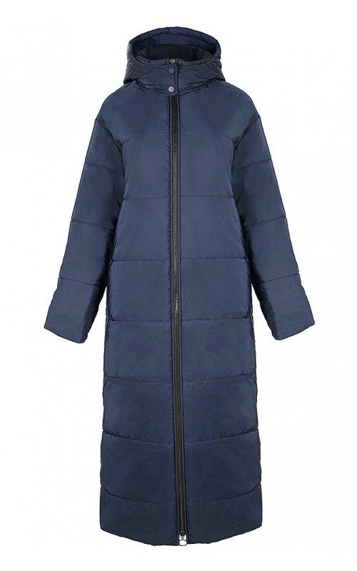 Синяя длинная куртка IMPERIAL I020WXK