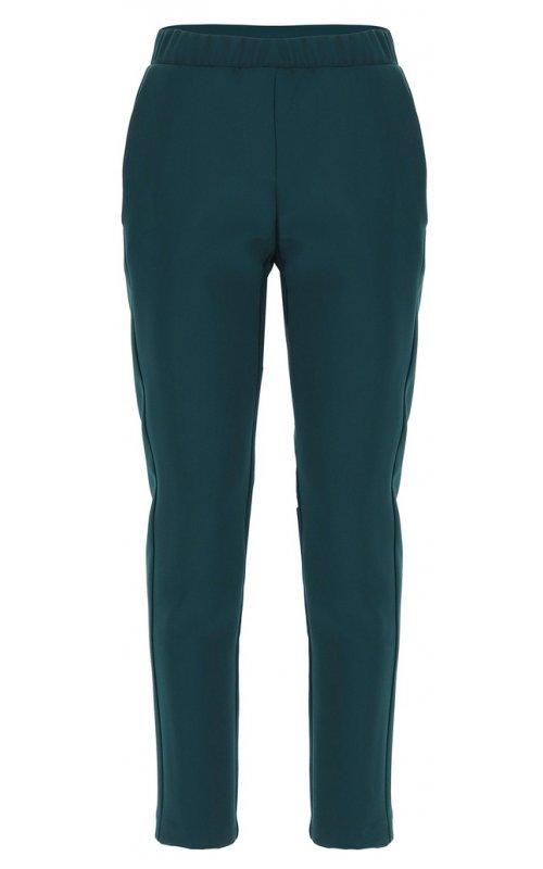 Темно-зеленые однотонные брюки-сигареты IMPERIAL PSR8YDX