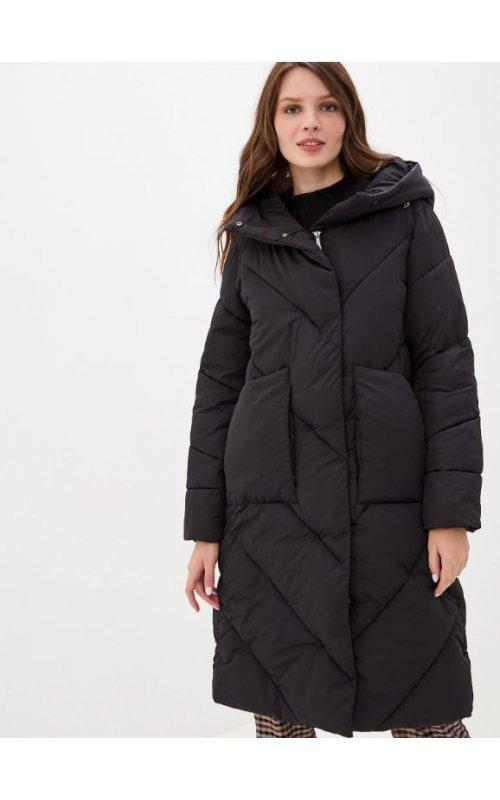 Утепленная куртка с накладными карманами RINASCIMENTO 91919