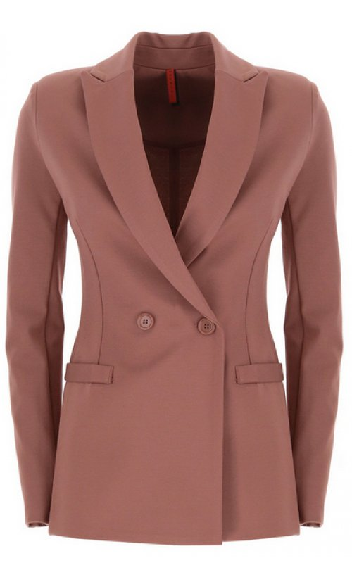Приталенный пиджак темно-розового цвета IMPERIAL JV24YDK