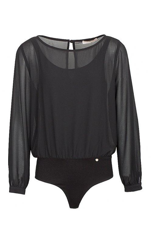 Блуза-боди черного цвета RINASCIMENTO 94607