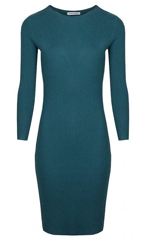 Зеленое трикотажное платье Anna Pepe AP 97130