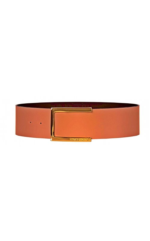Кожаный пояс коричневого цвета RINASCIMENTO 12154