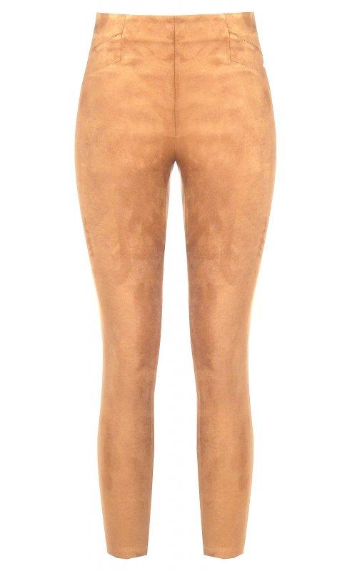 Бежевые узкие брюки RINASCIMENTO 93917