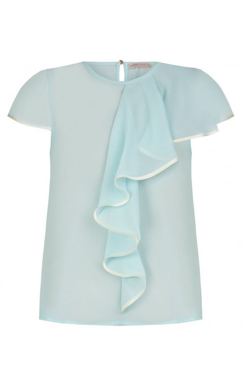 Бирюзовая блуза с декором RINASCIMENTO 92877